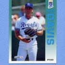 1992 Fleer Baseball #155 Storm Davis - Kansas City Royals