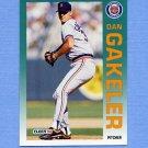 1992 Fleer Baseball #135 Dan Gakeler - Detroit Tigers