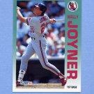 1992 Fleer Baseball #062 Wally Joyner - California Angels