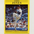 1991 Fleer Baseball #667 Jimmy Jones - New York Yankees