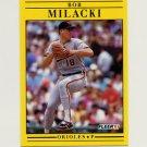 1991 Fleer Baseball #483 Bob Milacki - Baltimore Orioles