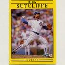 1991 Fleer Baseball #434 Rick Sutcliffe - Chicago Cubs