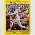 1991 Fleer Baseball #329 Dave Winfield - California Angels