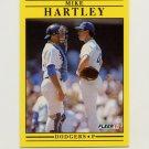 1991 Fleer Baseball #205 Mike Hartley - Los Angeles Dodgers