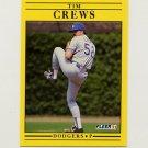1991 Fleer Baseball #197 Tim Crews - Los Angeles Dodgers