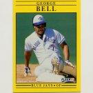 1991 Fleer Baseball #169 George Bell - Toronto Blue Jays