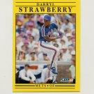1991 Fleer Baseball #161 Darryl Strawberry - New York Mets