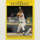 1991 Fleer Baseball #134 Adam Peterson - Chicago White Sox