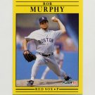 1991 Fleer Baseball #104 Rob Murphy - Boston Red Sox