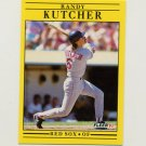 1991 Fleer Baseball #100 Randy Kutcher - Boston Red Sox