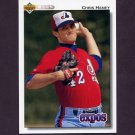 1992 Upper Deck Baseball #662 Chris Haney - Montreal Expos