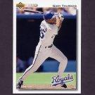 1992 Upper Deck Baseball #629 Gary Thurman - Kansas City Royals