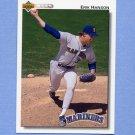 1992 Upper Deck Baseball #572 Erik Hanson - Seattle Mariners