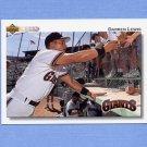 1992 Upper Deck Baseball #565 Darren Lewis - San Francisco Giants