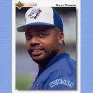 1992 Upper Deck Baseball #522 Dave Parker - Toronto Blue Jays