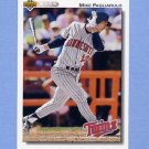 1992 Upper Deck Baseball #509 Mike Pagliarulo - Minnesota Twins