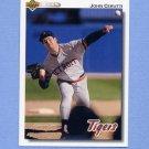 1992 Upper Deck Baseball #487 John Cerutti - Detroit Tigers