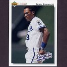 1992 Upper Deck Baseball #348 Terry Shumpert - Kansas City Royals