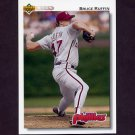 1992 Upper Deck Baseball #309 Bruce Ruffin - Philadelphia Phillies