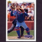 1992 Upper Deck Baseball #210 Mike Fitzgerald - Montreal Expos