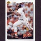 1992 Upper Deck Baseball #209 Mike Devereaux - Baltimore Orioles
