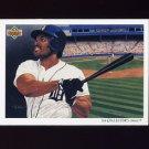 1992 Upper Deck Baseball #096 The Detroit Tigers Team Checklist / Cecil Fielder
