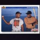 1992 Upper Deck Baseball #084 Bloodlines Dwight Gooden / Gary Sheffield