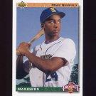 1992 Upper Deck Baseball #064 Marc Newfield - Seattle Mariners