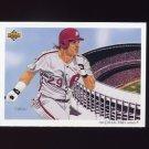 1992 Upper Deck Baseball #038 The Philadelphia Phillies Team Checklist / John Kruk