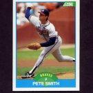 1989 Score Baseball #207 Pete Smith - Atlanta Braves NM-M
