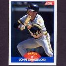 1989 Score Baseball #601 John Cangelosi - Pittsburgh Pirates