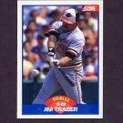 1989 Score Baseball #590 Jim Traber - Baltimore Orioles