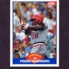 1989 Score Baseball #564 Pedro Guerrero - St. Louis Cardinals
