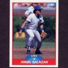 1989 Score Baseball #527 Angel Salazar - Chicago Cubs
