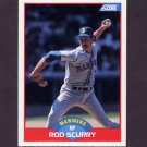1989 Score Baseball #516 Rod Scurry - Seattle Mariners
