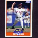 1989 Score Baseball #387 Doug Jones - Cleveland Indians