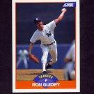 1989 Score Baseball #342 Ron Guidry - New York Yankees