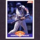 1989 Score Baseball #310 Harold Reynolds - Seattle Mariners