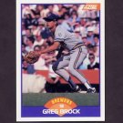 1989 Score Baseball #307 Greg Brock - Milwaukee Brewers