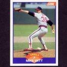1989 Score Baseball #298 Mike Witt - California Angels