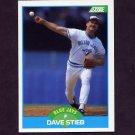 1989 Score Baseball #197 Dave Stieb - Toronto Blue Jays