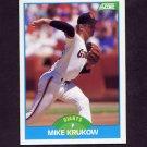 1989 Score Baseball #190 Mike Krukow - San Francisco Giants