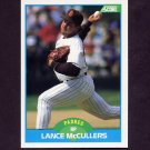 1989 Score Baseball #158 Lance McCullers - San Diego Padres