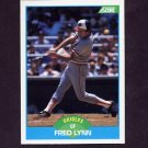 1989 Score Baseball #126 Fred Lynn - Baltimore Orioles