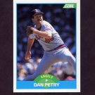 1989 Score Baseball #122 Dan Petry - California Angels