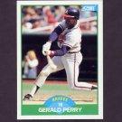 1989 Score Baseball #101 Gerald Perry - Atlanta Braves