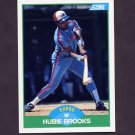 1989 Score Baseball #053 Hubie Brooks - Montreal Expos