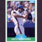 1989 Score Baseball #041 Keith Hernandez - New York Mets
