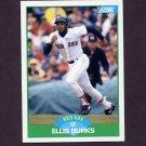 1989 Score Baseball #009 Ellis Burks - Boston Red Sox