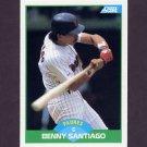 1989 Score Baseball #004 Benito Santiago - San Diego Padres